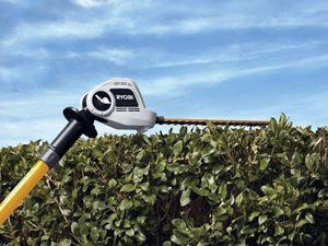 Ryobi Articulating Pole Hedge Cutter detail
