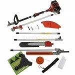 Trueshopping petrol long reach multi function 5 in 1 garden tool