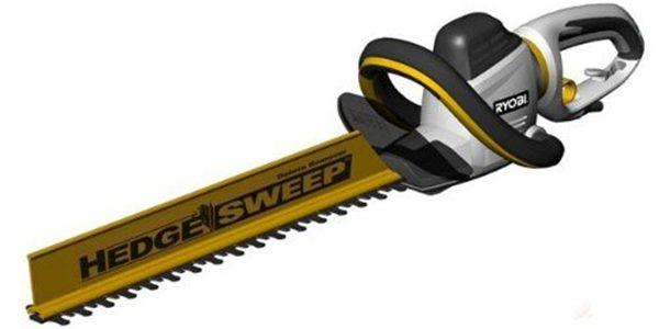 Ryobi RHT600RL Hedge Cutter and Hedge Sweep